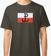 Flag of the Polish Underground State, 1939-1945 Classic T-Shirt