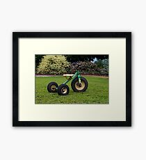 Little Tricycle  Framed Print