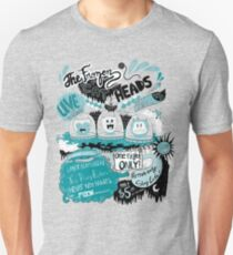 THE FROZEN CAT HEADS - LIVE!  T-Shirt