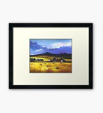 Bennachie in the Autumn Framed Print