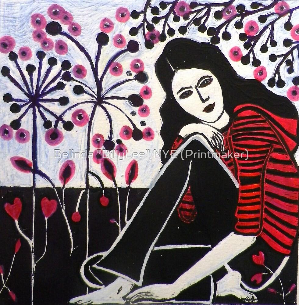 """BillyGirl 1 by Belinda """"BillyLee"""" NYE (Printmaker)"""