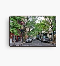 Jones Street, Greenwich Village Canvas Print