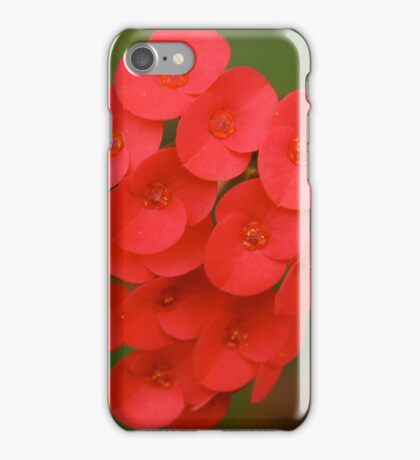 red iphone/samsung galaxy cover iPhone Case/Skin