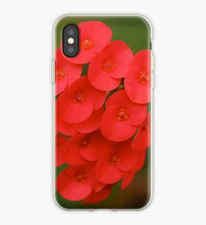 red iphone/samsung galaxy cover iPhone Case
