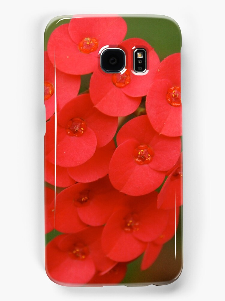 red iphone/samsung galaxy cover by mellychan