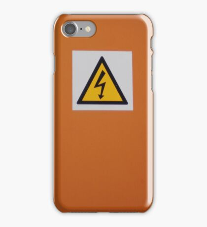 DANGER!   iphone/samsung galaxy cover iPhone Case/Skin