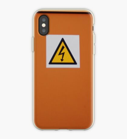DANGER!   iphone/samsung galaxy cover iPhone Case