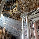 Vatican Rome.....Sun Rays by Kimberley Davitt