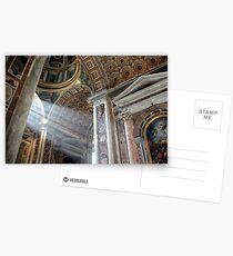 Vatican Rome.....Sun Rays Postcards