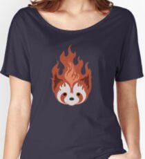 Legend of Korra: Fire Ferrets Pro Bending Emblem - no text Women's Relaxed Fit T-Shirt