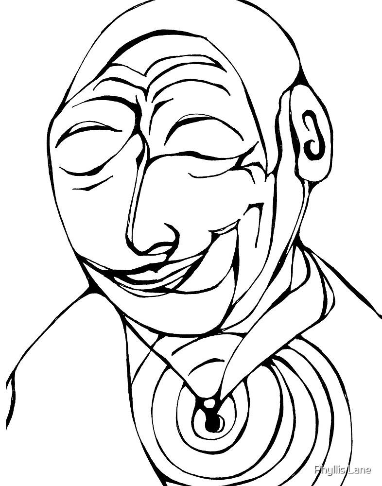 Dalai Lama by Phyllis Lane