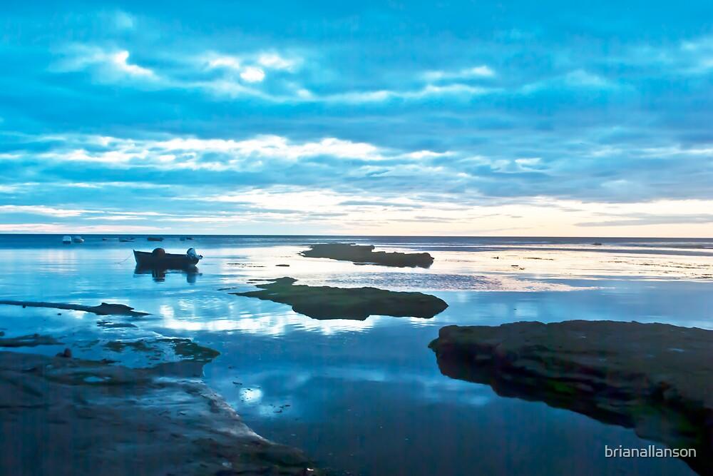Dawn In Blue by brianallanson