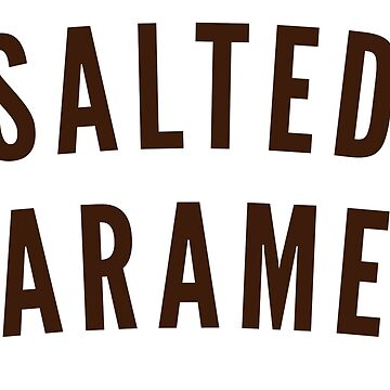 SALTED CARAMEL by ice-cream