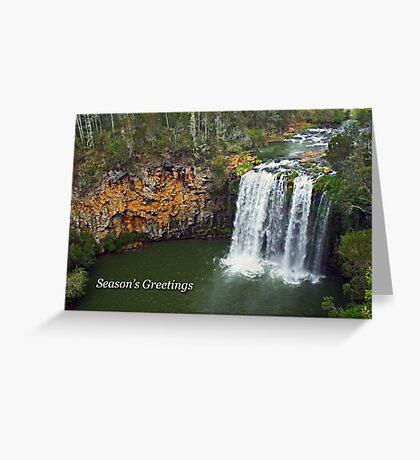 Dangar Falls Greeting Card