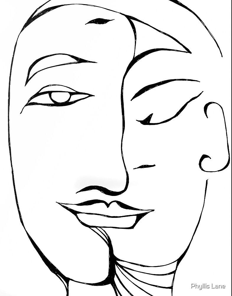 Yin Yang by Phyllis Lane