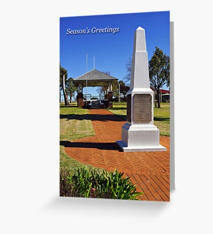 Taylor Park at Grenfell Greeting Card