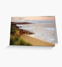 Anglesea Coastline Greeting Card