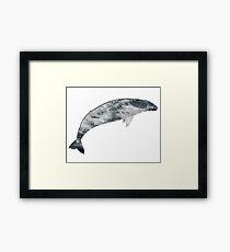 Grey Gale Framed Print