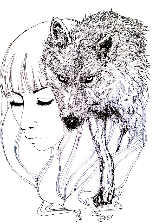 wolf? by shaona
