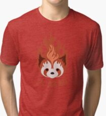 Legend of Korra: Fire Ferrets Pro Bending Emblem Tri-blend T-Shirt