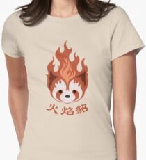 Legend of Korra: Fire Ferrets Pro Bending Emblem Women's Fitted T-Shirt