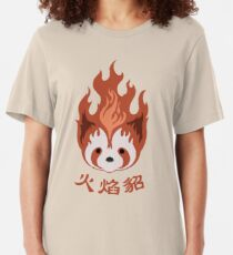 Legend of Korra: Fire Ferrets Pro Bending Emblem Slim Fit T-Shirt
