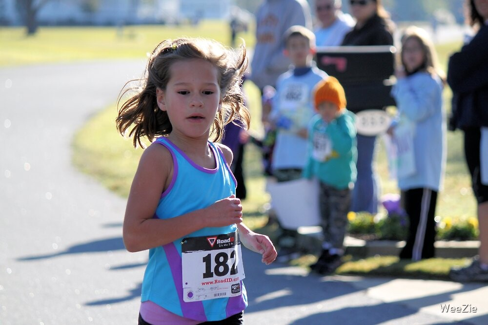 The Youngest Runner by WeeZie