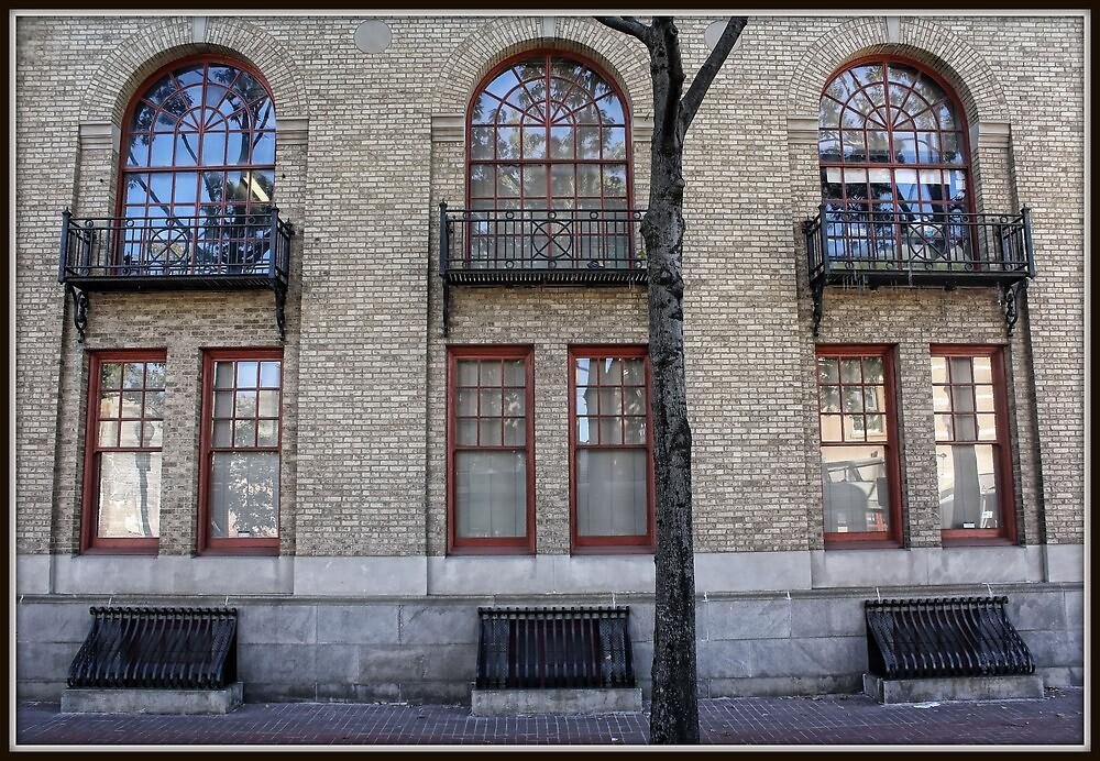 Wrought Iron & Brick by Mikell Herrick