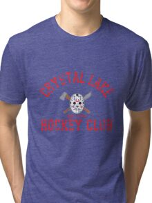Crystal Lake Hockey Club Tri-blend T-Shirt