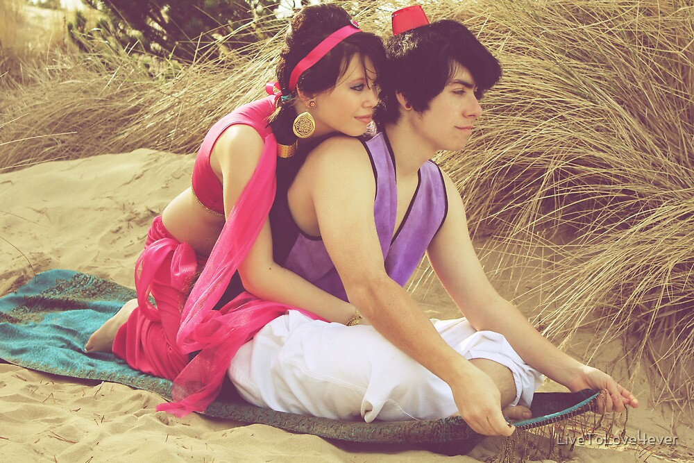 Aladdin & Jasmine by LiveToLove4ever