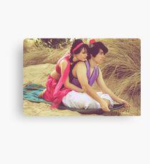 Aladdin & Jasmine Canvas Print