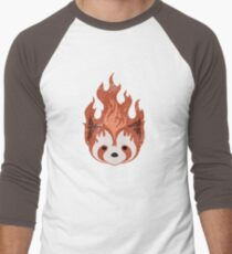 Legend of Korra: Fire Ferrets Pro Bending Emblem - no text Men's Baseball ¾ T-Shirt