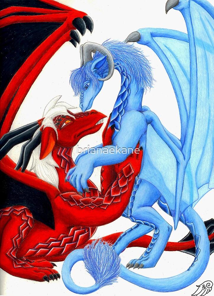 My Blue Swan by Briana Lanham