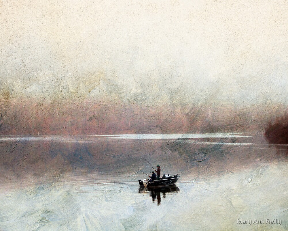 Fall Fishing by Mary Ann Reilly