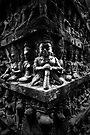 Wall of Faces II, Cambodia by Michael Treloar