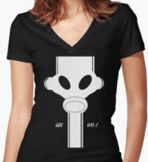 Got Gas? Women's Fitted V-Neck T-Shirt