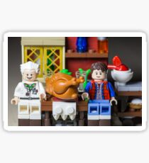 Thanksgiving with Doc and Marty Sticker