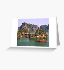 Halong Bay Greeting Card