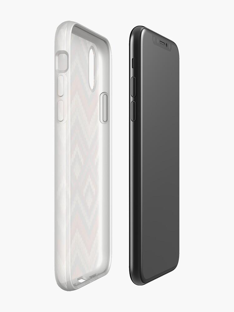 Alternative Ansicht von Modern Chevron Zig Zag Stripes Knitting Pattern iPad Case / iPhone 5 / iPhone 4 Case  / Samsung Galaxy Cases  iPhone-Hülle & Cover