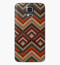 Modern Chevron Zig Zag Stripes Knitting Pattern iPad Case / iPhone 5 / iPhone 4 Case  / Samsung Galaxy Cases  Case/Skin for Samsung Galaxy