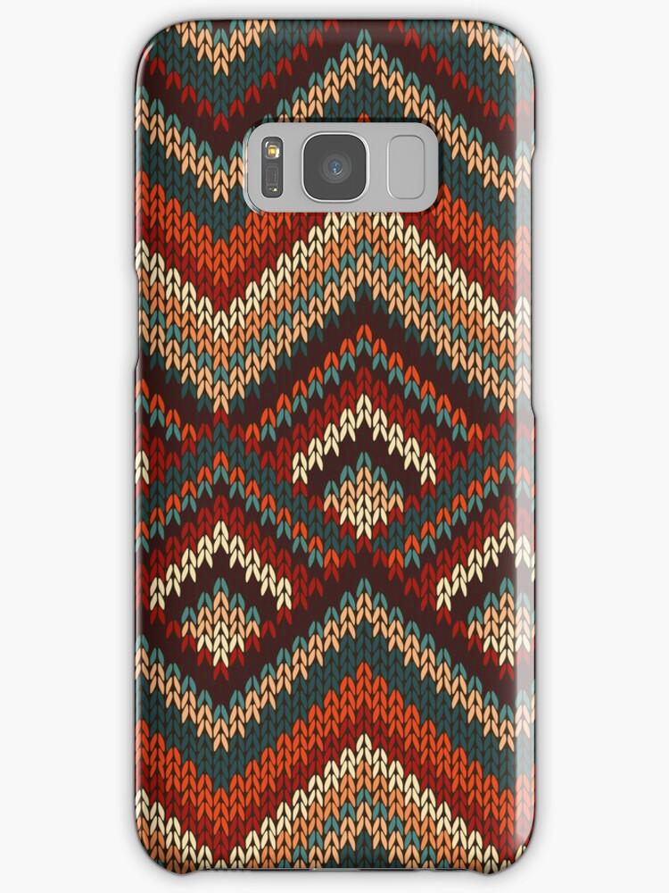 Chevron Zig Zag Knitting Pattern : Quot modern chevron zig zag stripes knitting pattern ipad case