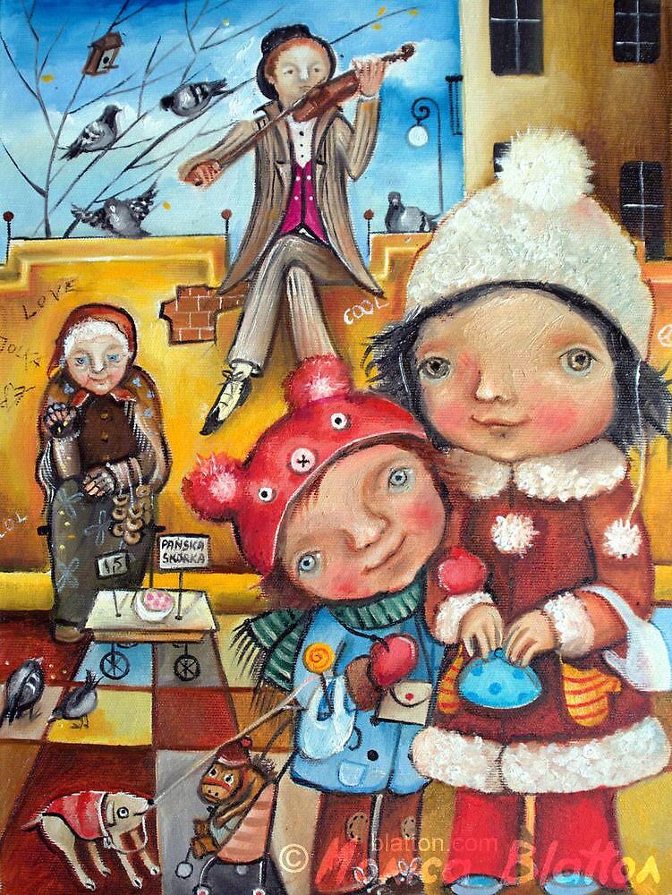 Shopping Sonata by Monica Blatton