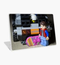 Marty Gets the Hoverboard out Laptop Skin