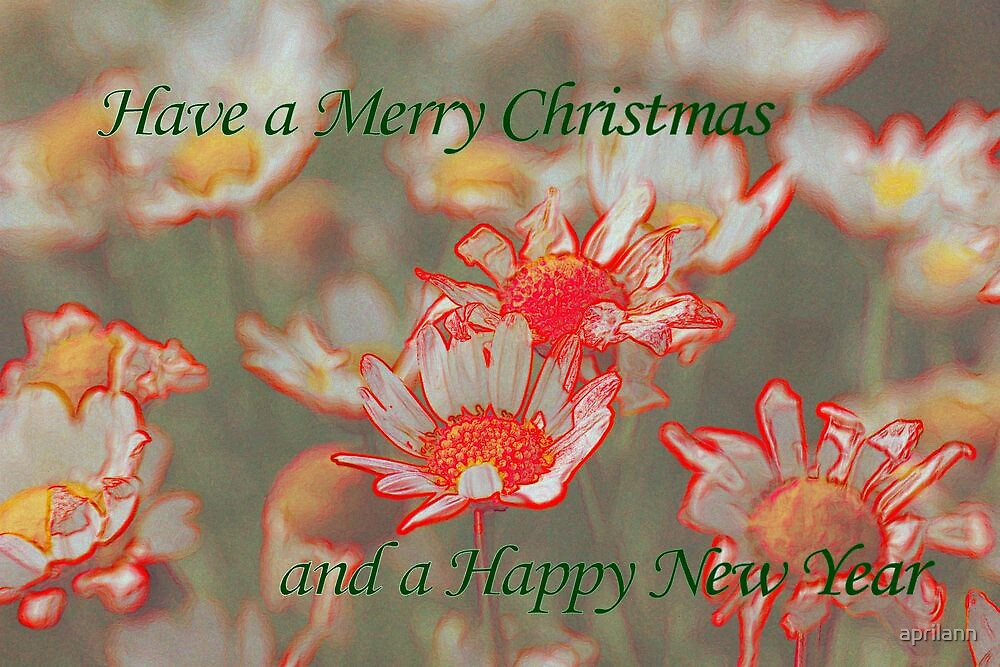 Merry Christmas and Happy New Year by aprilann