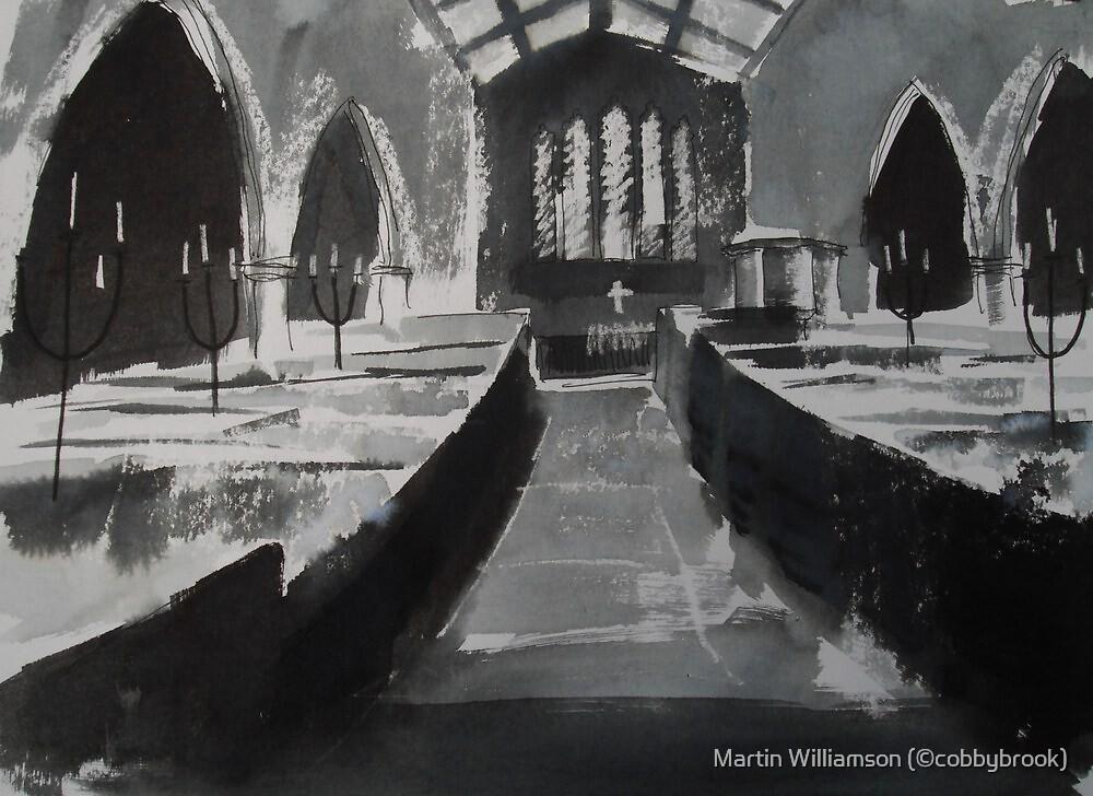 'Interior - Holy Trinity, Goodramgate, York' by Martin Williamson (©cobbybrook)