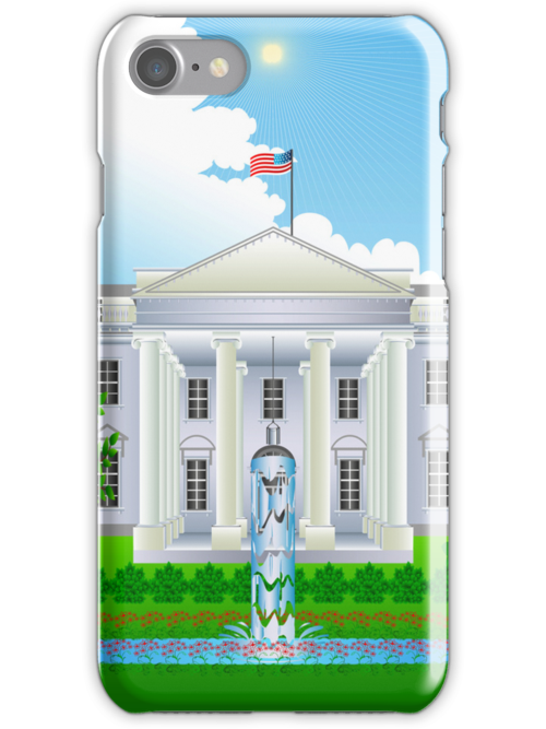 The White House iPhone 5  / iPhone 4 Case by CroDesign