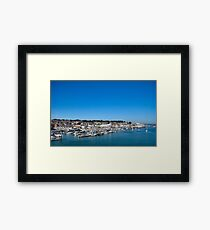 Yachts, Yachts and more Yachts... Framed Print