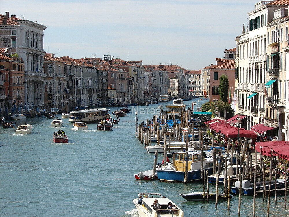 Venetian canals II. by Natas