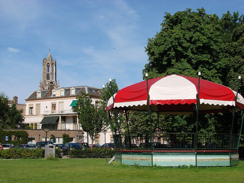The Bandstand in the Park by Alison Netsel