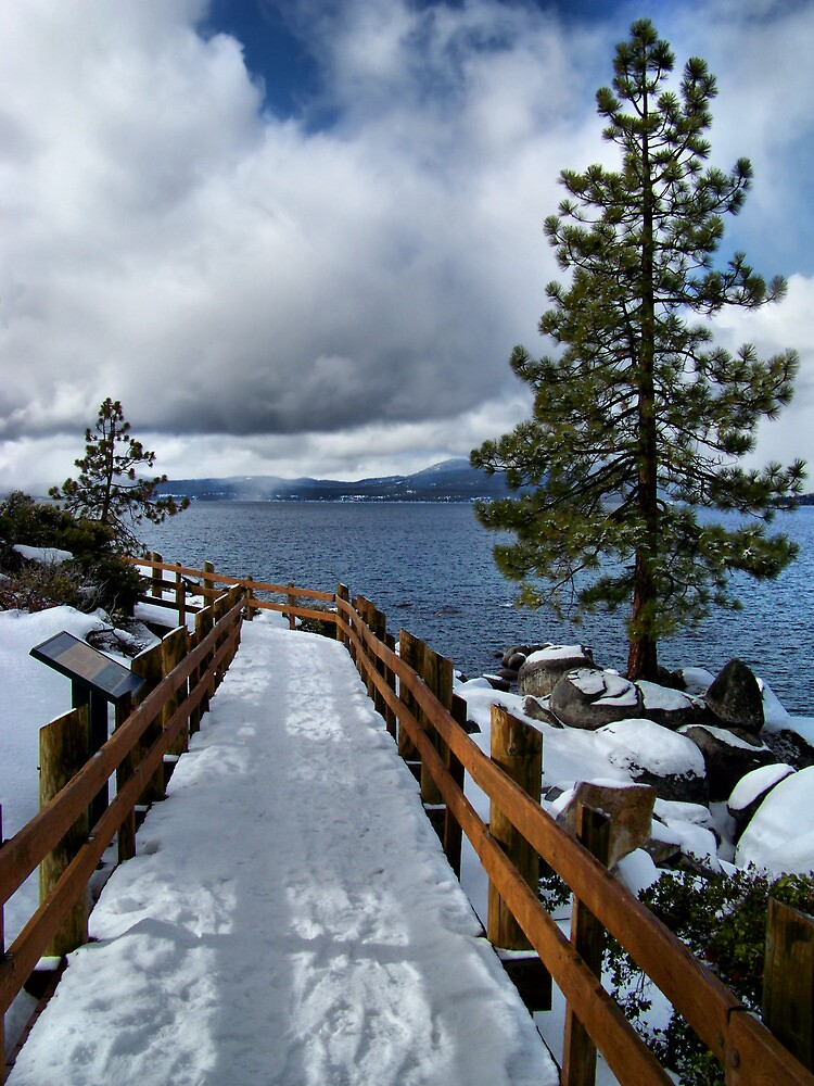 Tahoe Winter by Gary & Marylee Pope